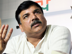 """""""We will contest by-elections and will announce our candidate in a day or two,"""" AAP's senior leader Sanjay Singh said."""