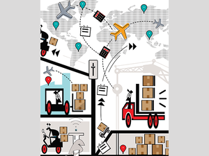 Turns out that the inherent chaos in nature and learnings from particle physics are helping shape new technology for the all-important logistics industry.