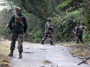 As the forces were conducting the search operation, the hiding militant opened fire on them. In the ensuing encounter, the militant was killed