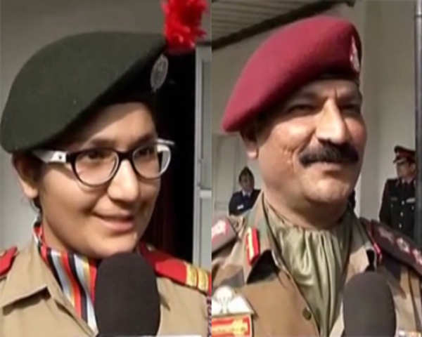 Indian Army witnesses first father-daughter duo perform para-jumping drill