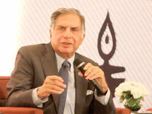Calling himself 'Gujarati' while addressing the 8th Vibrant Gujarat Global Summit, Tata also said that people abroad talk of the state and India in the same breath.