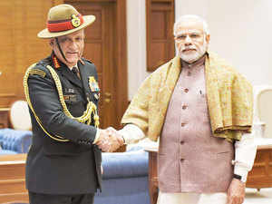 Sources said Rawat also had a meeting with all army commanders including superseded southern command chief Lt General PM Hariz.