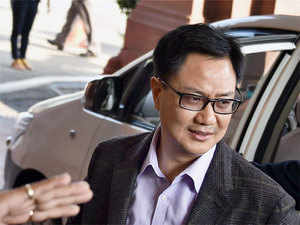 """Rijiju said there was a need to upgrade the quality of food and government was working in that direction. """"It is the responsibility of the government to work for the welfare of the jawans, who are its priority,"""" he said."""