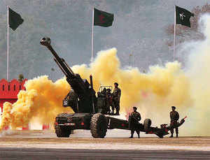 Indian army has not had a new 155mm artillery gun inducted since the Bofors scandal of 1987. 'Dhanush', also known as 'desi Bofors', is indigenously-developed 155mm gun with 45 calibre having advanced features with a strike range of 38 km. The towed howitzer 'Dhanush' has larger range than 27-km of the imported Bofors.