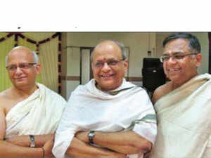 """The modest lifestyle of the three brothers involved sharing an apartment in Chennai and moving around on a scooter. """"While all three of us have been religious."""""""