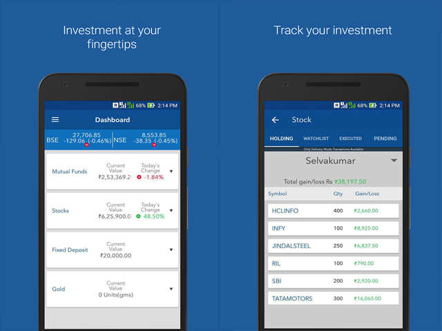 KTrack app by Karvy - Mutual fund apps for easy investing