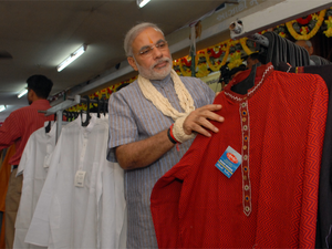PM Modi's promotion of khadi has translated into solid numbers.