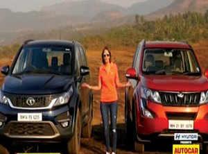 Premium Autocar Tata Hexa Vs Mahindra Xuv500 The Economic Times