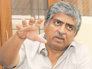 Nilekani said a combination of low transaction charges and formal sector credit will help.