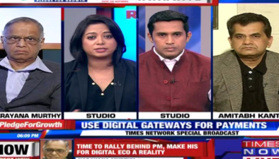 'Remonetise India - A Citizen's Pledge' has been kicked off by TIMES NETWORK