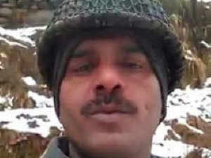 BSF jawan Tej Bahadur Yadav had uploaded a video on his Facebook criticising living conditions of soldiers on the border and poor quality of food.