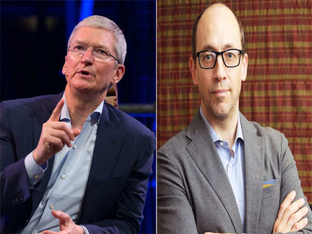Apple's Tim Cook took a 15 per cent pay cut from last year's $8.7 mn after the company's failure to meet its goals.