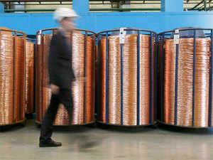Copper concentrate, the raw material of the copper industry, is limited in the country and around 96 per cent of it is imported.