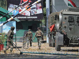 Heavily armed terrorists had stormed the army base in Uri sector in September and killed 18 soldiers.