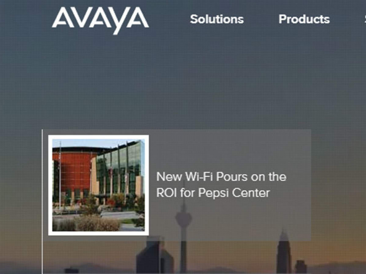 Avaya India News and Updates from The Economic Times