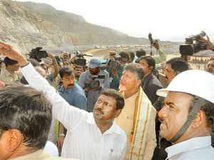 I am not keen on credits or bouquets at this stage in my political career but will be happy if I am able to complete my vision for Polavaram and Amaravati as scheduled, said Chandrababu Naidu.