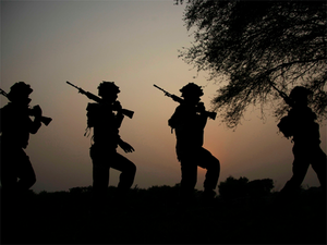 Security forces retaliated and both are currently locked in an encounter.