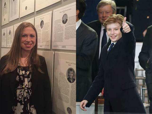 Chelsea Clinton Defends Barron Trump Says He Deserves