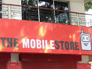 The company, once the country's largest cellphone retailer, now has about 300 stores, compared with more than 1,000 five years ago.