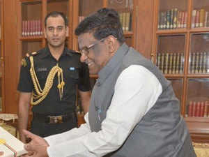 V Shanmuganathan who was once an RSS activist from Tamil Nadu took the governorship of Meghalaya on May 20, 2015.