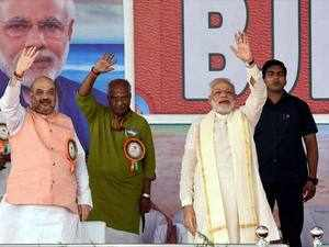 BJP leaders said the party was betting big on Paswans that constitutes about 15% of Dalit population in the state. The party has fielded 24 Paswan candidates on reserved seats.