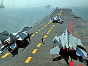 Currently, six planes are compatible for aircraft carrier flying. They are Rafale (Dassault, France), F-18 Super Hornet (Boeing, US), MIG-29K (Russia), F-35B and F-35C (Lockheed Martin, US) and Gripen (Saab, Sweden).