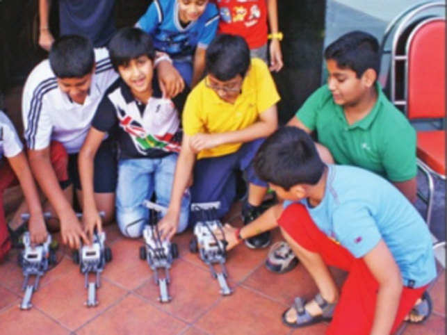 Techy tots: When parents started to enroll their kids in