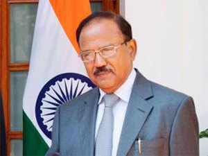 Apart from Doval, U Thaung Tun will also meet Foreign Secretary S Jaishankar and Defence Secretary G Mohan Kumar, and is expected to deliberate on issues related to security.  In Pic:  Ajit Doval