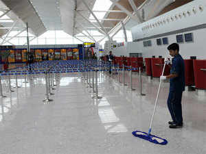 The airport with three runways and as many terminals handled 5.5 crore passengers: 4 crore domestic and 1.5 crore international flyers. Mumbai was a distant second at 4.4 crore.