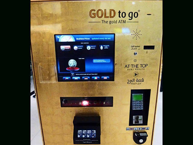 Gold from ATM