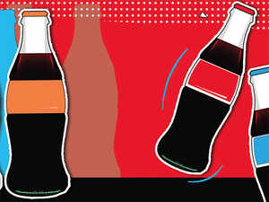 Coca-Cola and PepsiCo have cut prices of drinks sold in 200 ml glass bottles to Rs 10 from Rs 12 in select small markets in a bid to boost sales.