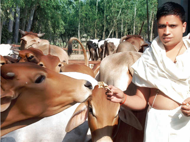 We produce over 5,000 litres of cow urine every day: Acharya Balkrishna, CEO, Patanjali