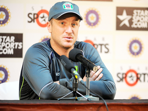 Former stumper Haddin had gone to New Zealand as an assistant coach for the ODI series and he had a chat with Wade, who had to return home without playing a game because of a back injury.