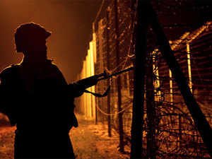 The exact location where the incident took place is the Simbal border post of the BSF in Bamiyal area of Pathankot.