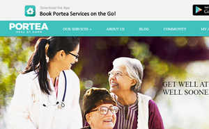 """According to Ganesh, Portea sees about 120000 visits a month and considers """"Elder Care"""" is one of the areas where it is optimistic about big growth in future."""