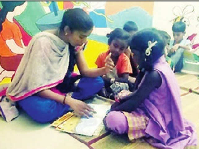 The Ragpicker's Dream! Buguri library hopes to create a space for children