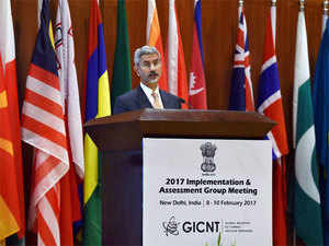 """Events that have unfolded around us, more so in the past couple of decades, have highlighted that terrorism remains the most pervasive and serious challenge to international security. If access to nuclear technology changes State behaviour, it is only to be expected that it would also impact on non-state calculations,"" said Jaishankar."