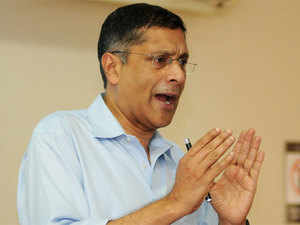 Asked whether India should have one GST rate, Arvind Subramanian said it may not be possible to have one rate in the Indian context.