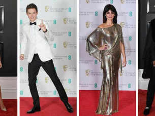 BAFTA and Grammys: The most-fashionable looks from London to LA