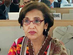 Image result for Tehmina Janjua becomes Pak's first woman foreign secretary