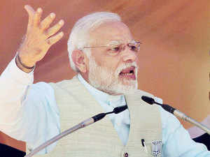 Modi has pledged to spend $250 billion by 2025 on weapons and equipment for a military that faces territorial tensions with Pakistan and China.