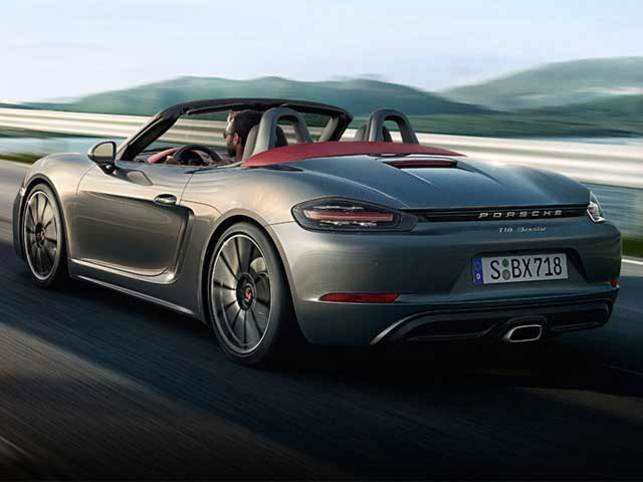 Porsche Launches 718 Boxster In India At Rs 8553 Lakh The