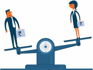 A study by Paycheck India found that the gender pay gap was a shocking 40 per cent in the group earning between Rs 1 lakh and Rs 50 lakh