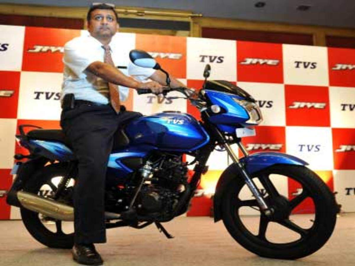 TVS Jive launched in Kerala market - The Economic Times