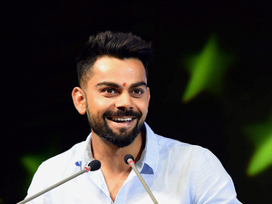 Kohli will work with the German company to launch a signature line of sports lifestyle products with a special logo and brand identity.