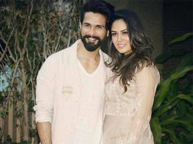 Mira wore an Anita Dongre dress for the party while Shahid kept it classy in white.