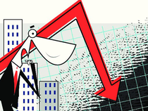 The Nifty index was down 9.80 points at 8869.4.