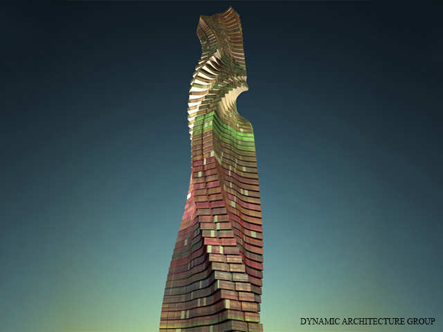 360 Degree View Dubai Is Now Building A Rotating Skyser Where