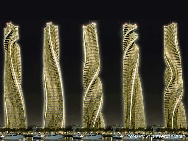 Dubai Is Now Building A Rotating Skyser Where Every Apartment