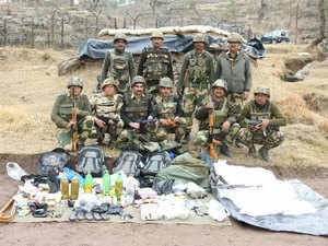At first light at about 7 am, a BSF party carried out a thorough search and mopping up of the entire area. The body of the slain militant was retrieved. The BSF found an AK-56 rifle with 16 magazines, 267 live cartridges, a radio set, binoculars, five grenades and two Improvised Explosive Devices (IEDs).